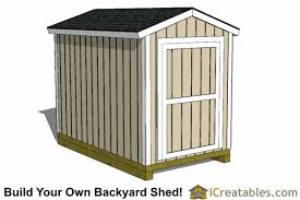6x12 shed plans 6x10 storage shed plans icreatables