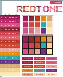 Red Tone Color Scheme