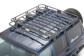 Smittybilt Defender Roof Rack For 90-01 Jeep Cherokee XJ With ... Roof Racks For Amarok Vehicles Alloy Motor Accsories Discount Ramps 4door Vehicle Basket Carrier With Rain Gutter Expert Picks 7 Excellent Hauling Gear Patrol Gamiviti Apex Deluxe Steel Cargo Wind Fairing 4714l X Amazoncom Body Armor 4x4 5129 Black Large Sport Rack Toyota World Dodge Ram 1500 Rhino 2500 Vortex Cross Bars Storage Solutions This Years Vacation Season Topperking Holden Rodeocolorado Roof Racks Off Road 120 Prado 19 12m