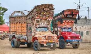 The Rise Of 'Jingle Trucks' And Truck Art In Pakistan