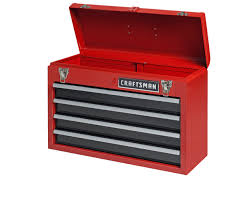 Craftsman 4-Drawer Portable Tool Chest - Red