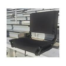 Padded Stadium Chairs For Bleachers by Stadium Seat Bleacher Chair Folding Backrest Portable Padded