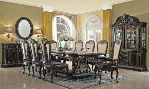 Impressive Traditional Style Dining Room Furniture Set