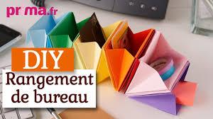 accessoire rangement bureau faire un rangement de bureau en origami tuto diy