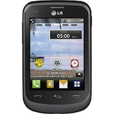 Amazon TracFone LG 306G No Contract Phone Black Cell
