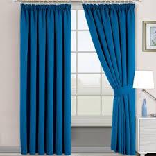 Teal Blackout Curtains Pencil Pleat by Blue Pencil Pleat Curtains Wayfair Co Uk