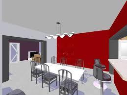 tapisserie salon salle a manger r alisation d 39 une salle a manger en papier peint gaufr papier