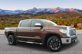 Pre-Owned 2014 Toyota Tundra 4WD Truck LTD Crew Cab Pickup In ...