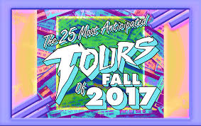 Halloween Express Mn Maplewood by The 25 Most Anticipated Tours Of Fall 2017 Consequence Of Sound