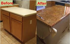 How To Refinish Your Kitchen Counter Tops For ly $30