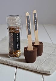geschenk aus der küche selbstgemachte trinkschokolade mit
