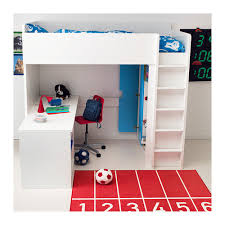Desk Bunk Bed Combo by Stuva Loft Bed Combo W 2 Shlvs 3 Shlvs White Lofts Drawers And