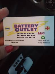 battery outlet battery stores 332 w ajo way tucson az
