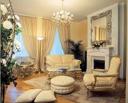 Architecture The Marvelous Modern Classic Home Interior Design All Are Cream Colour Domination With Very Beautiful Chandelier Is Your