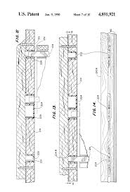 Peachtree Patio Door Glass Replacement by Patent Us4891921 Sliding Door Assembly With Weather Seal