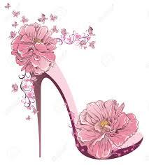 Floral Clipart Shoe Flower 4