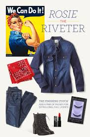 Rosie The Riveter Halloween Diy by Diy Halloween Costume Ideas Perfect Party Cabi Women U0027s Clothing
