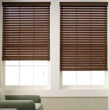 Blinds And Shades 20585 Wood Grain Faux Wood Blinds 6 Colors