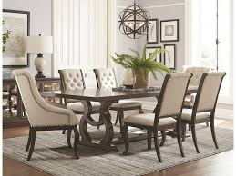 Dining Room Table With Upholstered Chairs - Kitchen Design Legacy Classic Larkspur Trestle Table Ding Set Farmhouse Reimagined Rectangular W Upholstered Amazoncom Cambridge Ellington Expandable 6 Arlington House With 4 Chairs Ding Table And Upholstered Chairs Magewebincom Liberty Fniture Harbor View Ii With Chair In Linen Middle Ages Britannica 85 Best Room Decorating Ideas Country Decor Cheap And Find