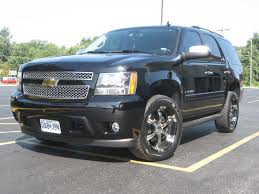 Nice Black Chevy Tahoe With 20