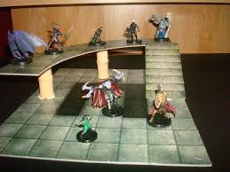 3d Printed Dungeon Tiles by Adding A New Third Dimension To Dungeon Tiles Www Newbie Dm Com
