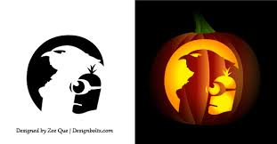 Walking Dead Pumpkin Stencils Free Printable by Minion Halloween Stencils 16 Cool Pumpkins Stencils Halloween