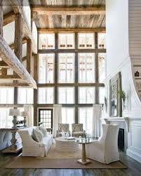 Distinctive Windows Designs To Penetrate Luminous Skylights Rustic Living Room Decor With Floor Ceiling
