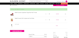 Golden Scent Discount Codes | 70% OFF Coupons | Dec 2019 Shop Kohls Cyber Week Sale Coupon Codes Cash And Up To 70 Off Scentsplit Promo Althea Code Enjoy 20 Off December 2019 45 Italic Boxyluxe Free Natasha Denona Gift 55 Value Support Will Slash Your Devinah Aila Cosmetics 1162 Photos 2 Reviews Hlthbeauty Birchbox Stacking Hack How Use One Coupon Code For Multiple Discounts In Apply A Discount Or Access Order Drugstore Com New City Color Cosmetics Contour Boxycharm 48 Value It Cosmetics