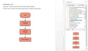 how to make a flowchart in word lucidchart