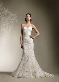 Justin Alexander wedding dresses style 8605 Strapless all over lace