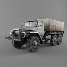 100 Ural Truck For Sale 4320 3D Model 29 Obj Fbx 3ds Max Free3D