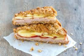 granini crusted apple und turkey panini rezept