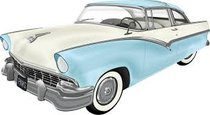 Vintage Car Roadster Clipart