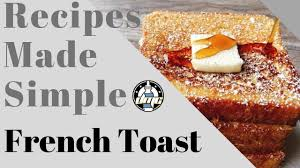 Recipes Made Simple   (French Toast) - YouTube Sonic Deal 099 French Toast Sticks Details Bread Stamper Boys Mesh Pullover Top Crunch Cereal 111 Oz Box School Uniforms Starting At Just 899 Costco Hip2save Homemade Casserole The Budget Diet Frenchs Coupons 2018 Black Friday Deals Uk Game Toast Clothing Brand Wwwcarrentalscom Maple Breakfast Cinnamon 2475 2count Uniform Pants Bark Shop