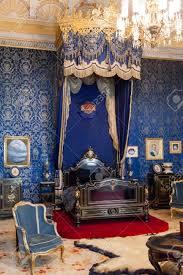 lissabon portugal 2 dezember 2013 der königin schlafzimmer des ajuda national palace lissabon portugal klassizistischen königspalast aus dem
