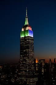 The Empire State Building s lights will be e a live scoreboard