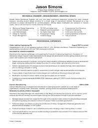 Engineering Manager Resume Examples Mechanical Technician Sample Template Project