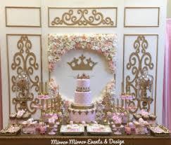 princess baby shower decoration ideas