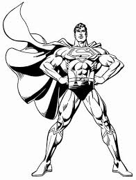 Superman Coloring Pages Superhero