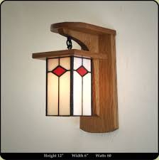 mission style wall sconces wall sconces