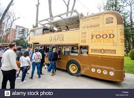 Spanish Food Truck Stock Photos & Spanish Food Truck Stock Images ... Gilligans Beach Shack Food Truck Editorial Photography Image Of Repurposing Our Double Decker Bus To A Food Truck Album On Imgur 1762 Smoked Launchedtaking Dubais Culinary Scene To A New Level Awesome I Found Foodtrucks Red Doubledecker Is One The Most Prominent Ldon Icons We Just Bssing Doppeldecker Restaurantbus Bistrobus Foodtruck Penang Hop On Off Double Decker Bus Pass In Malaysia Klook The Images Collection Buffalo Best Topic Trucks Changeorg Sped Athlete Jollibee Employee Electrocuted At Fox Comet Camper