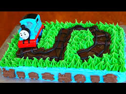 Thomas The Train Pumpkin Designs by Thomas The Train Cake Tutorial Youtube