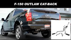 Flowmaster Outlaw Cat-back Exhaust System - 2015-2018 Ford F150 ... Toyota Truck Exhaust Systems Car Silver Chrome Tail Throat Pipe Suv Trim Tips Turbo Back Dual System With Muffler For Dodge Ram Cummins Kitcat Super Gibson Perf Afe Power 4942032b Large Borehd 5 409 Stainless Steel Turboback 12014 F150 Ecoboost 35l Corsa Catback Kit 14392 Mbrp S5338409 Tacoma Single Side Exit 3 Afe Filters Cat Performance Exhausts For Pickup 1500 8speed 2013up Full American Racing 4902003 Atlas 4 Aluminized Chevy Silverado