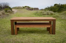 Beautiful Outdoor Furniture Bench Seat Dining Room Table With Seats Rustic Modern