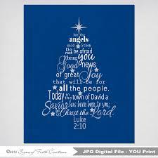 Sams Club Christmas Tree Train by Luke 2 Bible Verse Christmas Tree Subway Art Instant