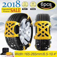 Amazon.com: 【NEW 2018 VERSION 】Snow Chains Car Anti Slip Tire ...
