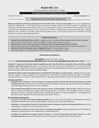 Ten Things About Cio Resume Examples 15 You Have To