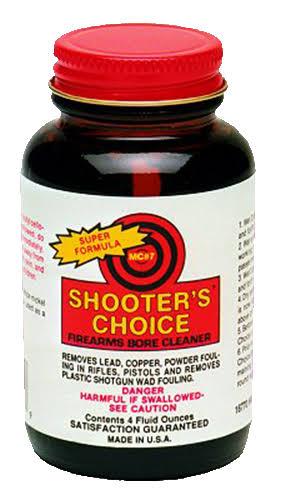 Shooters Choice MC7 Bore Cleaner & Conditioner Glass Bottle, 4oz
