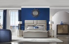 italienisches designer schlafzimmer bett 2x nachttische 3tlg möbel set betten