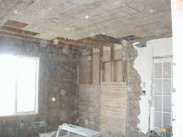 Removing Lathe And Plaster Insulating Drywalling